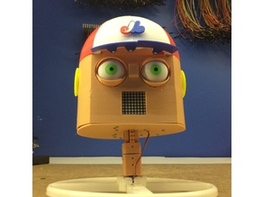 Tommy's robot head - RC