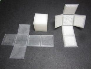Foldable Cube - Print Flat
