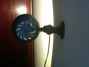 LED lamp with intel cooler, fanless
