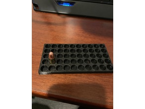 Reloading tray for 9mm