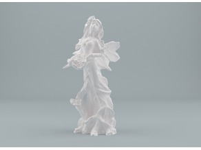 Forest fairy figurine - 3D Scan