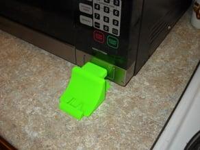 Microwave Door Opener