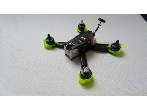 Iflight Ix5 arm and motor protection + softmount