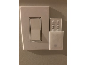 Light Switch Remote Holder