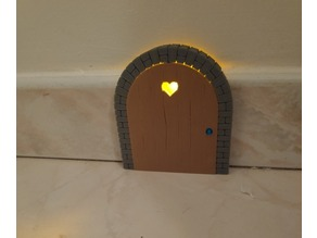 The door of the rat hole with light