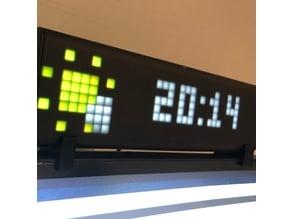 Lametric clock holder
