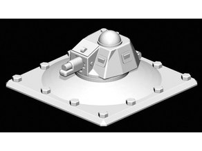 H39 Turret Emplacement (1:100)
