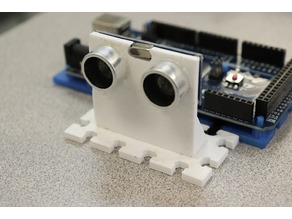Ultrasonic Sensor Modular Mount for Arduino or Raspberry Pi