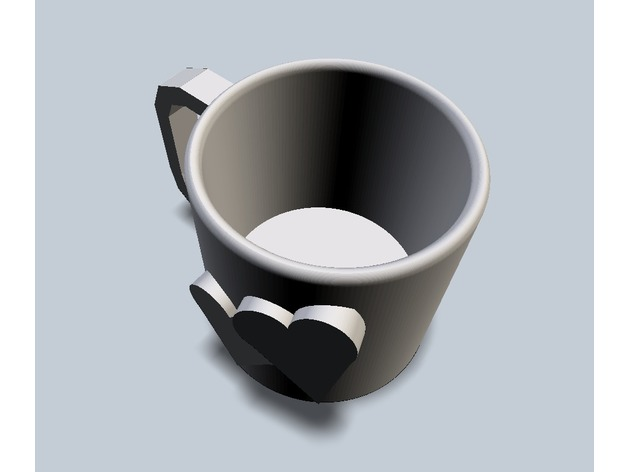 Heart Mug by megvale