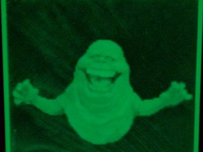 Slimer Lithophane