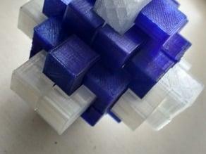 Cube Brain Teaser Puzzle