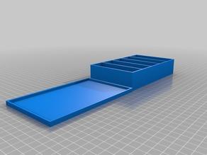 Adjustable Tackle Box 150wide 90long 30high 2walls