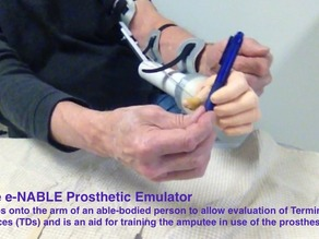 e-NABLE Prosthetic Emulator