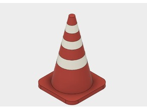 Dual Extruder Traffic Cone