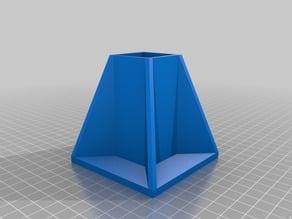 My Customized Parametric Fixing Table Leg -OpenScad 31 mm x80 mm