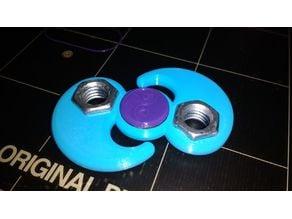 My Customized Yin-Yang Fidget Spinner