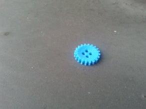 gear wheel button