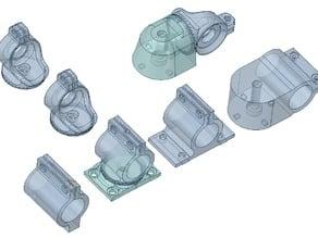Small lathe improvements: proxxon to lathe mounts