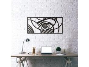 Eye || 3D Geometric Wall Art