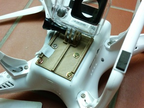 Phantom 2 GoPro mount