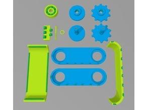 Tank Robot - DIY Robotics Platform Complete Assembly
