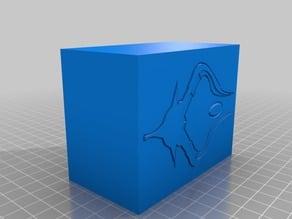 Nicol Bolas Magic Deck Box