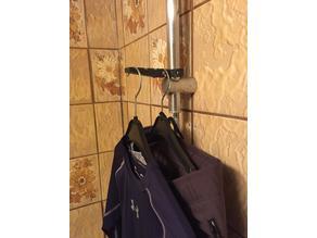 clothes holder bathroom
