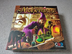 Alchemists & King's Golem Expansion Boardgame Insert