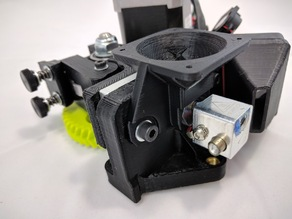 LulzBot Mini 40mm fan shroud upgrade