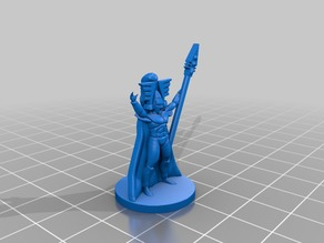 Eldar Avatar for Epic 40K (6mm scale)