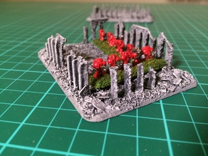Small Imperium Ruins #1 for Epic 40K (6mm scale)