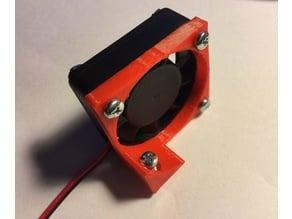 vertical fan holder for 40mm x 40mm fan