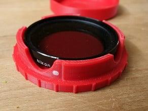 Rugged Lens Filter Case