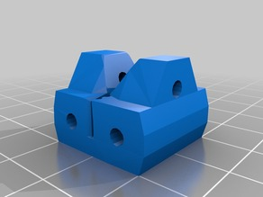 Simple Belt Tensioner for Printrbot Jr -- GT2 belts
