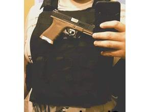 Holster Glock 17/18 avec molle