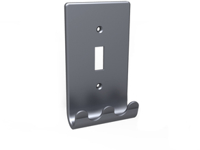 Wall plate with hooks
