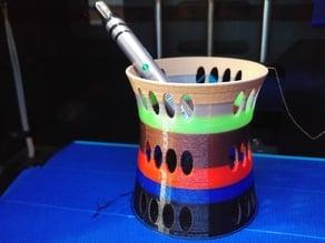 Modern Desk Pen or Pencil Cup Organizer