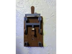 Frankenstein Light Switch Plate for Multiple Extuders