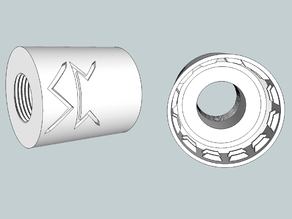 Airsoft Soda bottle flash hider adaptor