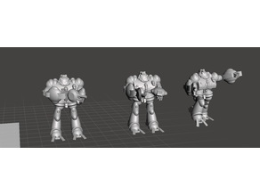 Robotech Masters Gister' dohl Legionnaire Commander Red Bioroid set1 (3 units)