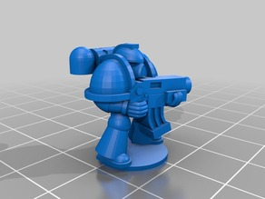 15mm Scale Tactical Marine
