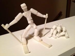 Makerbot Skier Man
