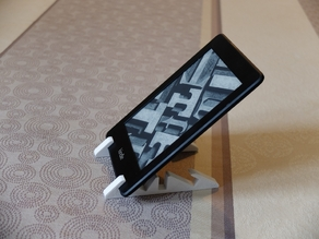 Kindle, smartphone and tablet stand
