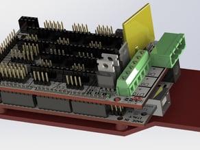 Wanhao Duplicator I3 Melzi to RAMPS Adapter