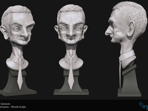 Mr Bean Bust