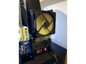 ANET A8 120mm fan power supply
