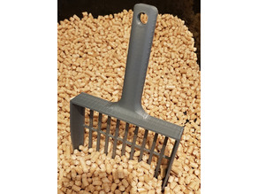 Cat poop-scoop for pellets