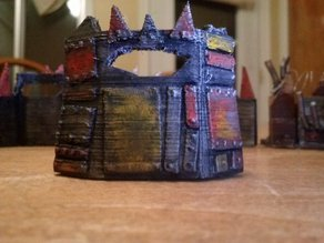 Space Goblin Scrapyard Barricade - Small 3