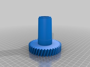 Gear for meat grinder Bork with FreeCAD source