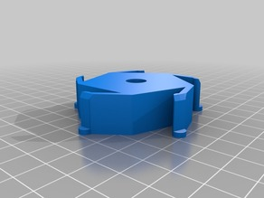 My Customized Spool Hub Adapter 57mm